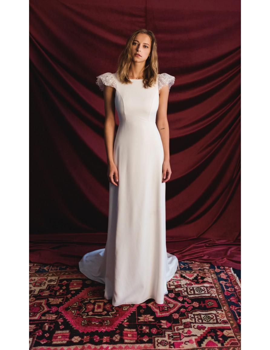 77c48be3338 Robe de mariée Eve - Harpe Paris