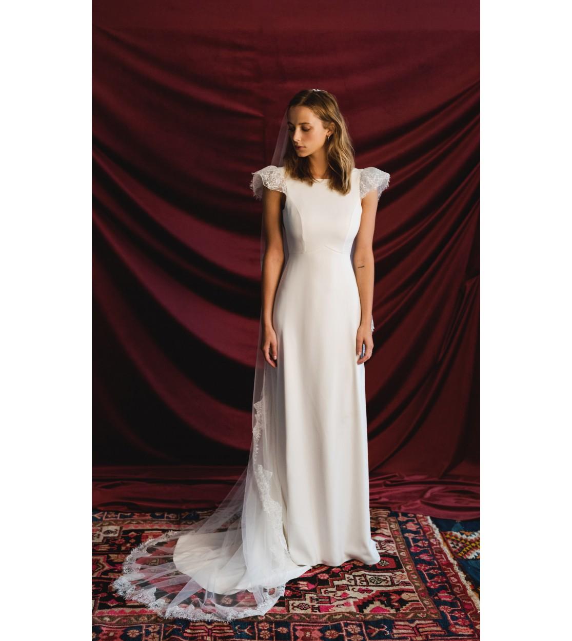 7822764a31c Robe de mariée Eve - Harpe Paris