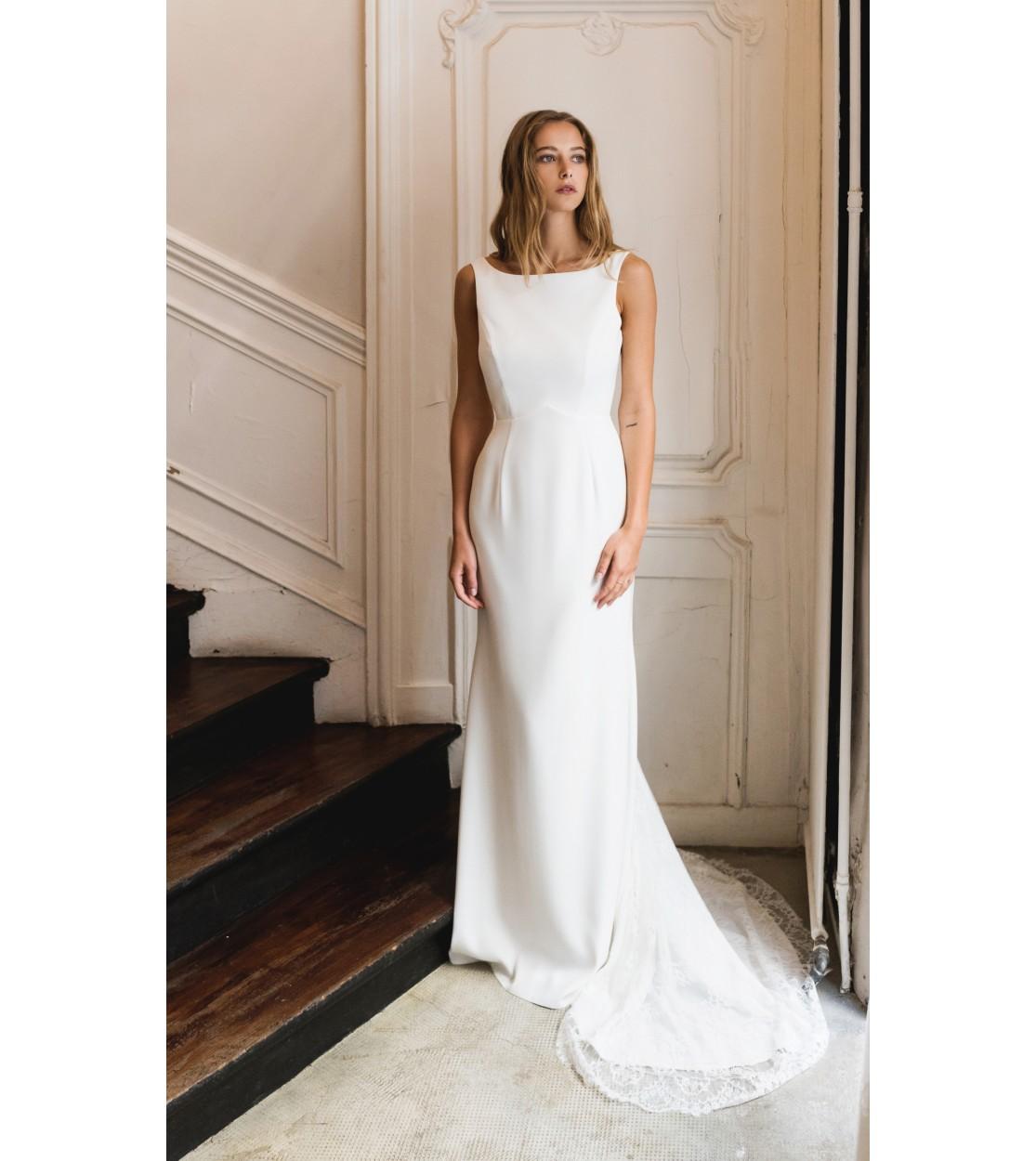 d8f938ae966d Robe de mariée Blanche - Harpe Paris