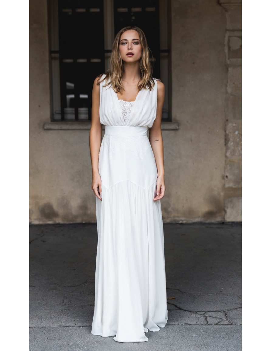 6415d157e0c Robe de mariée Venus - Harpe Paris