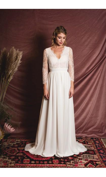 La harpe robe de mariee