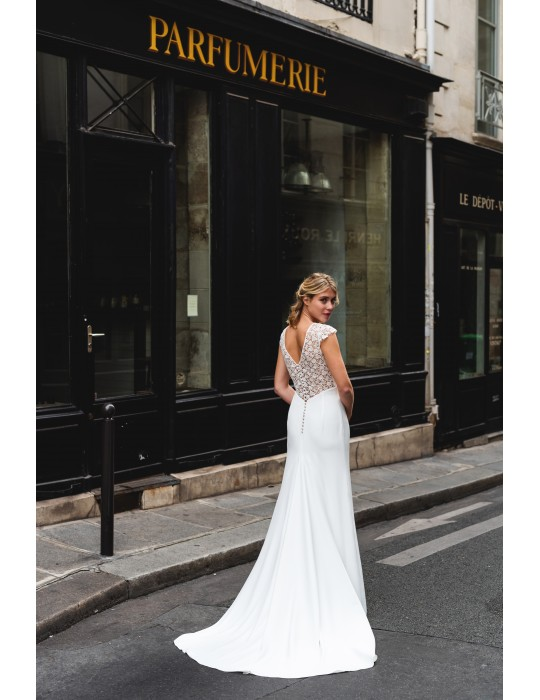 Robe de mariee mariage civil paris