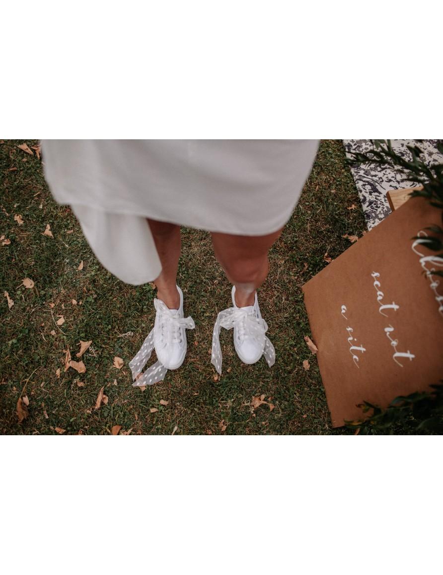 Les lacets de la mariée