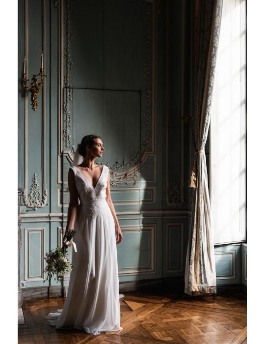 The wedding dress Nymphe