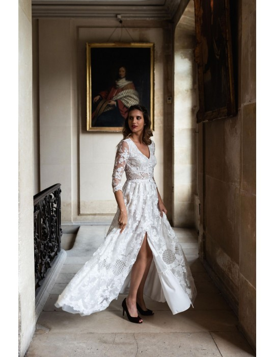 La robe de mariée Flamenco