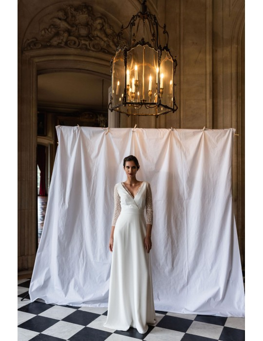 The wedding dress Colette
