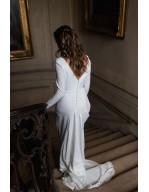 La robe de mariée d'hiver