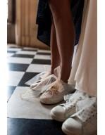 Les lacets de la demoiselle d'honneur
