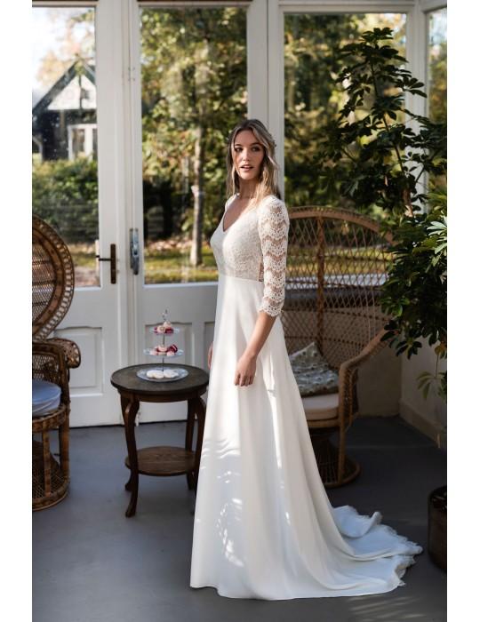 La robe de mariée Anne