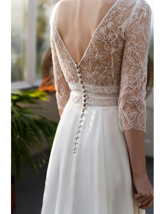 The wedding dress La Sublime