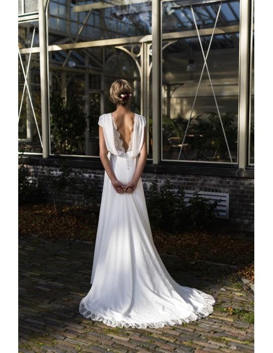 La robe de mariée Léa