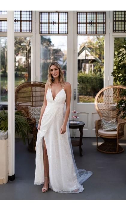 La robe de mariée Riomaggiore