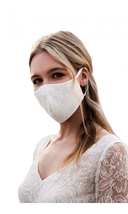 masque en dentelle