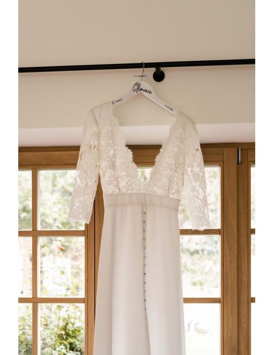 Le cintre de la mariée