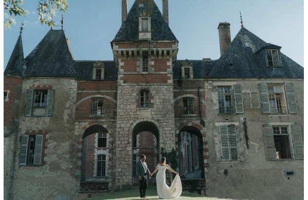 Marie & Alban's wedding in Le Château de Courcelles